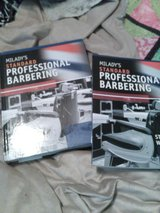 Miladys standard professional Barbering text book/ workbook in Perry, Georgia