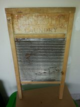 vintage laundry washboard in Naperville, Illinois