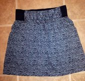 (Sz Med.) Cute NEW SKIRT / Black & Gray in Baytown, Texas