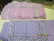 Pink & Lavender Bandanas -- All New in Kingwood, Texas