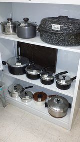 Various Kitchen Items:  Roasting Pan, Pot Sets in San Ysidro, California