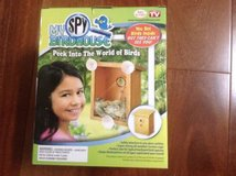 new! my spy birdhouse! window cling mount nest view - as seen on tv - in Yorkville, Illinois