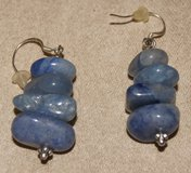 REAL STONES EARRINGS x2 SETS in Lakenheath, UK