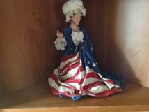 Patriotic Betsy Ross in Fort Campbell, Kentucky