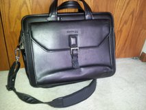 Kenneth Cole Black Leather Computer Bag in Palatine, Illinois