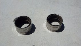 "4"" Stainless steel no hub clamps in 29 Palms, California"