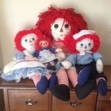 *Reduced* Raggedy Doll Family of (4) in Macon, Georgia