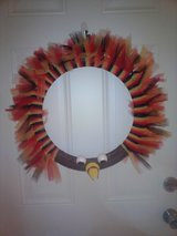 Fall/Thanksgiving wreath in Fort Campbell, Kentucky