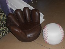 Glove and ball chair/ottoman in Alamogordo, New Mexico