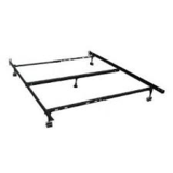 Queen Bed frame with Support middle in Alamogordo, New Mexico