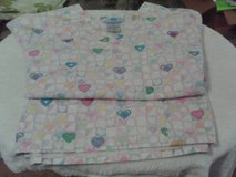 Women Wholesale lot of 3 Nursing Scrubs Tops, Heart, Bear and Flower Design in Cary, North Carolina