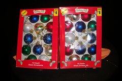 Holiday Style Glass Ornaments (T=43) in Fort Campbell, Kentucky