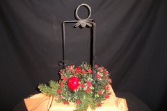 Iron Christmas Candle Holder (T=43) in Fort Campbell, Kentucky