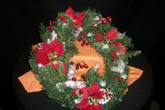 Christmas Wreath in Fort Campbell, Kentucky