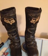 Motocross Fox Boots- Youth Size 8 in Macon, Georgia