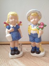 Boy and Girl figurines by Viola in Chicago, Illinois