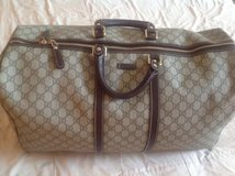 AUTHENTIC GUCCI GG DUFFLE BAG in Naperville, Illinois