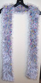 LONG FLUFFY SCARF, MULTI-COLORED in Lakenheath, UK