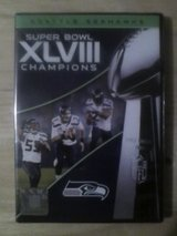 *** SEATTLE SEAHAWKS SUPER BOWL XLVIII CHAMPIONS DVD (New Sealed) *** in Fort Lewis, Washington