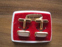 Reduced Antique Gold coated cuff links in Wiesbaden, GE