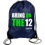 "** Seattle Seahawks ""Bring on the 12's"" Drawstring Backpack ** (NEW) in Tacoma, Washington"
