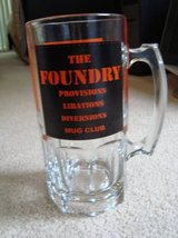 The Foundry Mug Club Beer Refill Glass Bar Aurora in Naperville, Illinois