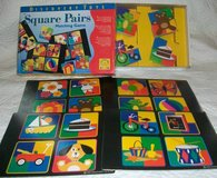 Discovery Toys Square Pairs Matching Game Ages 3+ in Plainfield, Illinois