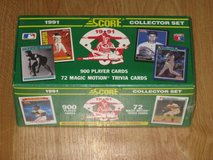 Baseball Cards Box Sets in Camp Pendleton, California