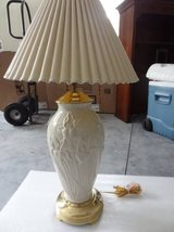 Vintage Large Lenox Iris Lamp - REDUCED for quick sale in Savannah, Georgia