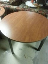 Round Conference/Dining Room Table in DeKalb, Illinois