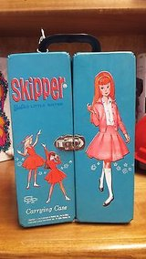 vintage 1964 blue skipper carrying doll case in Houston, Texas