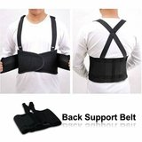 High Quality Elastic Back Support Belts (L or XL) - Black - Case of 50 in The Woodlands, Texas