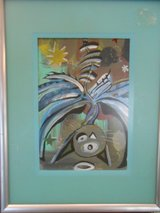 Abstract Painting in Cherry Point, North Carolina