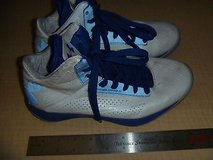mens under armour micro g torch basket ball white and blue size 7.5 cm 580 in Huntington Beach, California