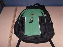 swiss army gear laptop computer airflow back pack black and bright green cm 636 in Fort Carson, Colorado