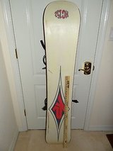 intermediate - advanced rider k2 hc152 snowboard 152cm with medium bindings in Huntington Beach, California