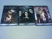 3 the twiligth saga dvd- in Wilmington, North Carolina