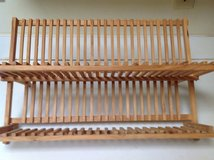Wooden Dish Drying or Display Rack in Cherry Point, North Carolina