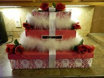 Wedding/Birthday gift card box--BEAUTIFUL in Baytown, Texas