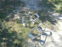 3 NICE chrome motorcycle chocks in Baytown, Texas