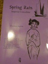spring rain-imperial concubine-clarence agress-autographed in Yucca Valley, California