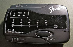 FENDER Auto Guitar and Bass Tuner Model AT-3 in Naperville, Illinois