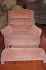 rose rocker recliner.  G in Cherry Point, North Carolina