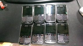 Lot of 8 World Unlocked 9650 BlackBerry Bolds  in Fort Lewis, Washington