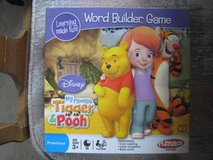 MY FRIENDS TIGGER & POOH WORD BUILDER Preschool Learning Game in Chicago, Illinois