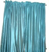 Teal Curtain Panels 52x84 in New Orleans, Louisiana