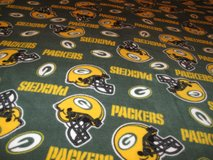 Handmade football,Green Bay Packers Blanket in Fort Bragg, North Carolina