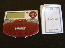 Rolodex Electronic E-Z file organizer by Franklin in Temecula, California