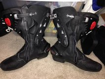 Sidi Vortice Air perforated track boots in Hemet, California