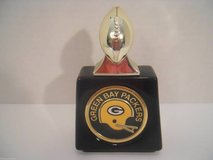VINTAGE GREEN BAY PACKERS FOOTBALL AVON DECANTER NFL COLLECTIBLE L@@K! in Brookfield, Wisconsin
